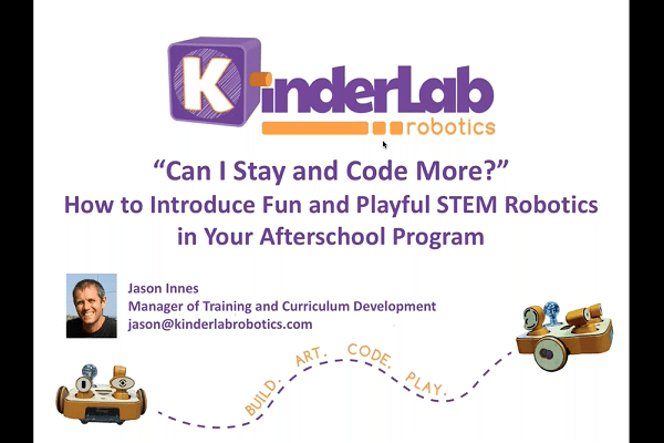 Introduce Fun and Playful STEM Robotics in Your Afterschool Program