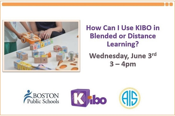 How Can I Use KIBO Hands-on Robotics in Blended or Distance Learning?