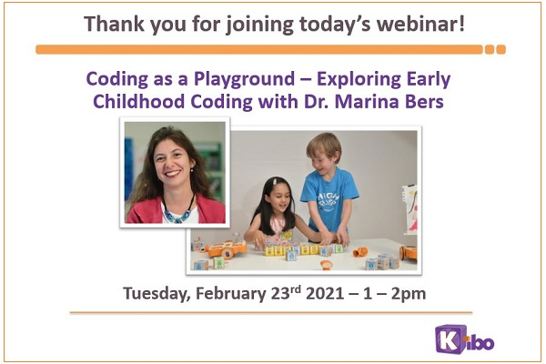Coding as a Playground Webinar