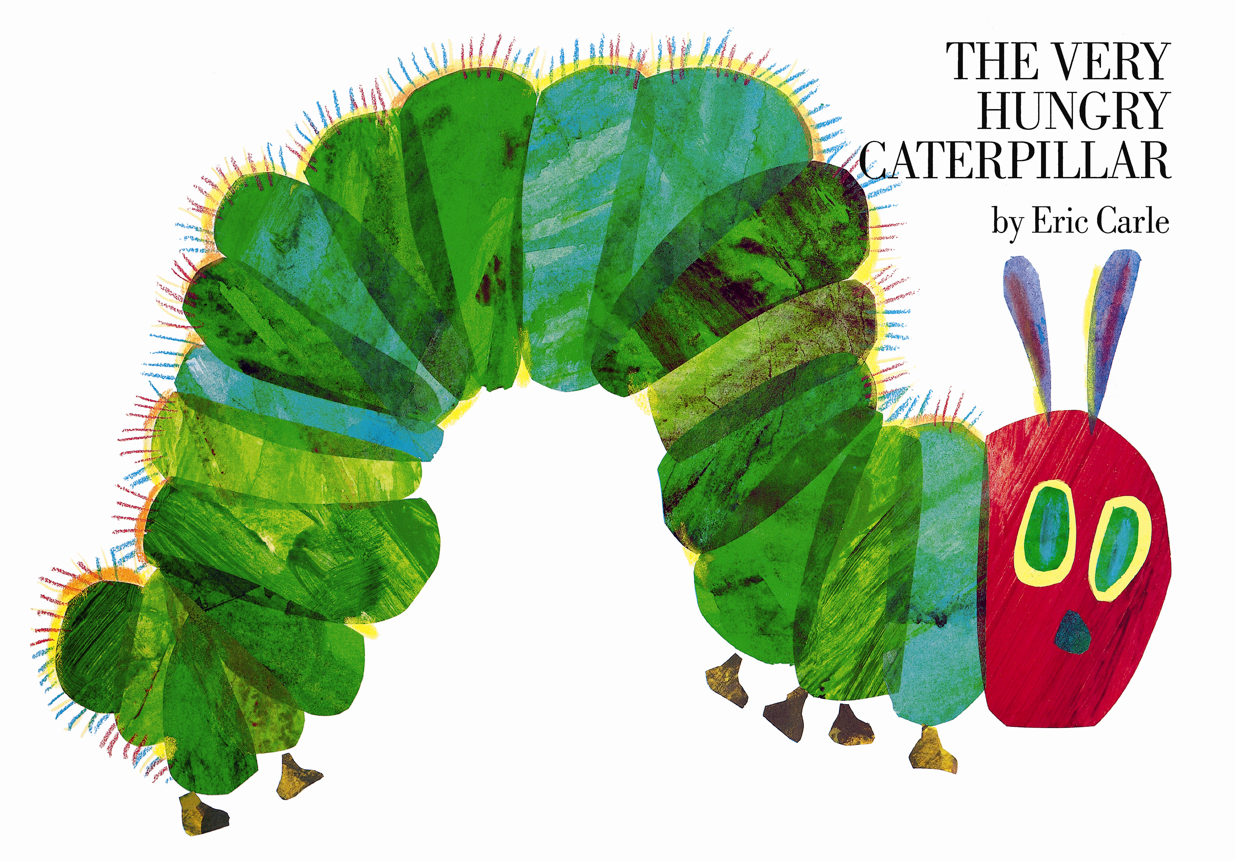 Fave Rave Petr Hora Ek On Eric Carle S The Very Hungry Caterpillar Kinderlit