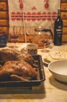thanksgiving, dinner, family
