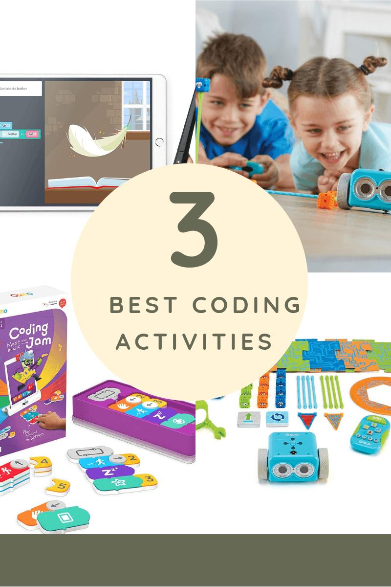 Top 3 Coding Activities for Children - kindermomma com