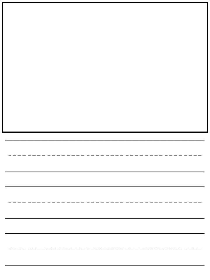 picture regarding Printable Kindergarten Writing Paper named free of charge kindergarten crafting template Archives -