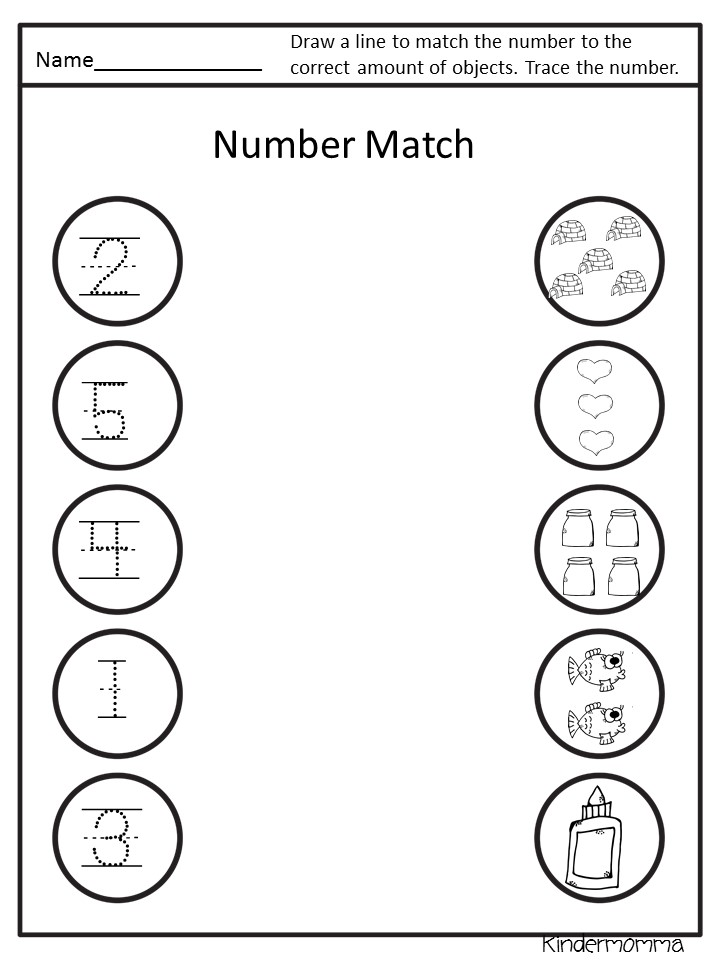 Numbers 0-10 Worksheets - .99 On Sale Now! - kindermomma.com