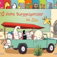 Susanne Göhlich: 10 kleine Burggespenster im Zoo