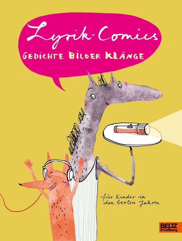 Rezension: Lyrik-Comics. Gedichte Bilder Klänge
