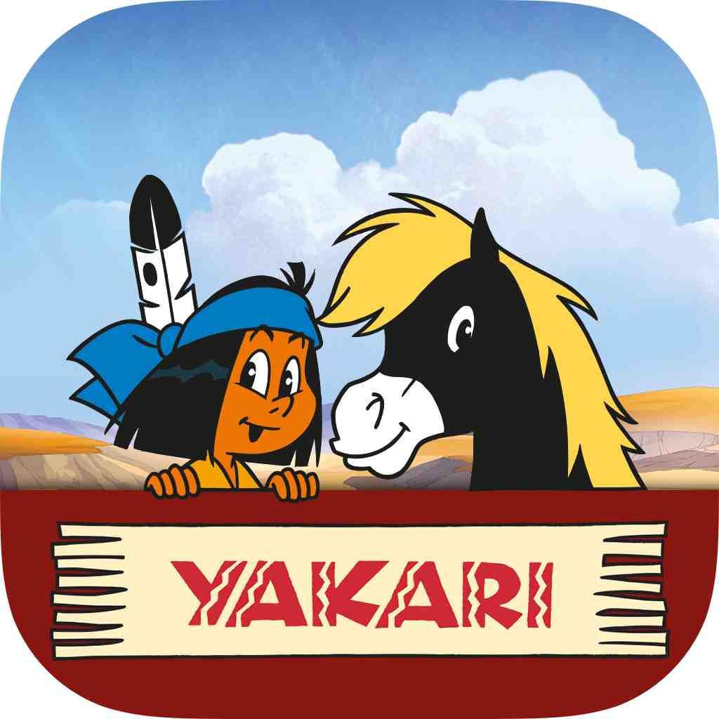 Yakari als interaktives E-Book hilft gegen Langeweile