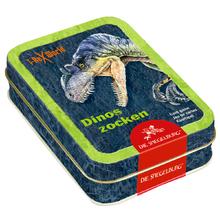 Nikolausgeschenke für Jungs: Kartenspiel Dinos zocken T-Rex World von Coppenrath.  Foto (c) coppenrath