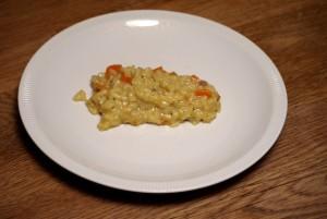 Kinderleicht ist unser Rezept Risotto alla Carota. Foto (c) kinderoutdoor.de