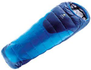Kinderschlafsack Deuter Starlight Exp: Kältebrücken haben hier dank einer besonderen Konstruktion keine Chancen.  foto (c) kinderoutdoor.de