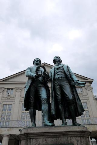 Weimar: Die Stadt von Goethe und Schiller ist auch für seine Zwiebeln bekannt. foto (c) kinderoutdoor.de