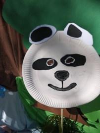 Einmal Cro sein? Kein Problem in fünf Minuten ist die Pandamaske fertig. foto (c) kinderoutdoor.de