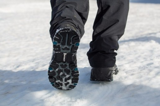 Michelin Ice Control überzeugt auf Winterstiefeln von Columbia und icebug. foto (c) icebug /michelin