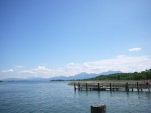 Sonne, See und Berge. Der Chiemsee ist ideal für Familien. foto (c) kinderoutdoor.de
