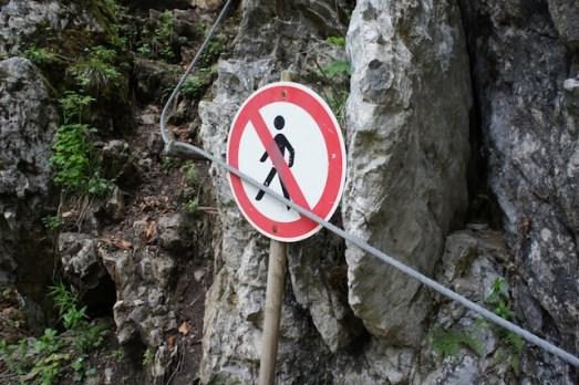 Auch am Klettersteig gibt es Regeln zu beachten. foto (c) kinderoutdoor.de