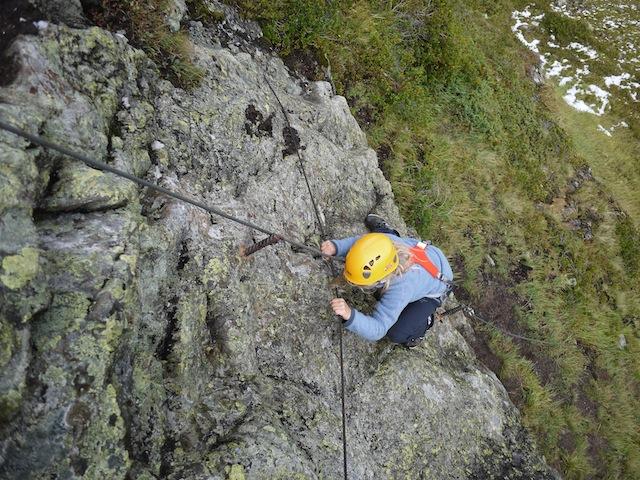 Kinder am Klettersteig in der Silvretta-Montafon. Ein Bergabenteuer der Extraklasse. foto (c) kinderoutdoor.de