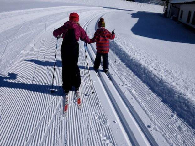 Familien im Winter in Thüringen: Nummer eins der Sportarten ist der Skilanglauf. foto (c) kinderoutdoor.de