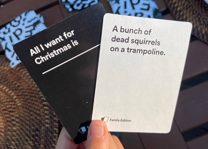 cah family edition card example