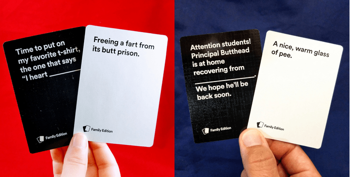 game review cah family edition