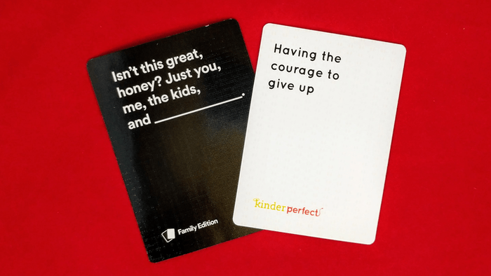 kinderperfect and cah family edition