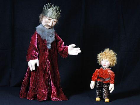Der kleine Prinz und sein Vater - Foto: Puppentheater Kolibri