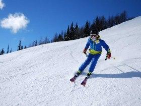 skifahren spaß mädchen