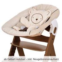 Hauck Alpha Newborn Set - Baby Holz Hochstuhl ab Geburt ...