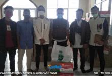 Photo of SATGAS Covid-19 MUI Pusat Salurkan Bantuan Masker Ke PMII Universitas YARSI