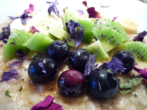 Flocons d'Avoine & Fruits Frais
