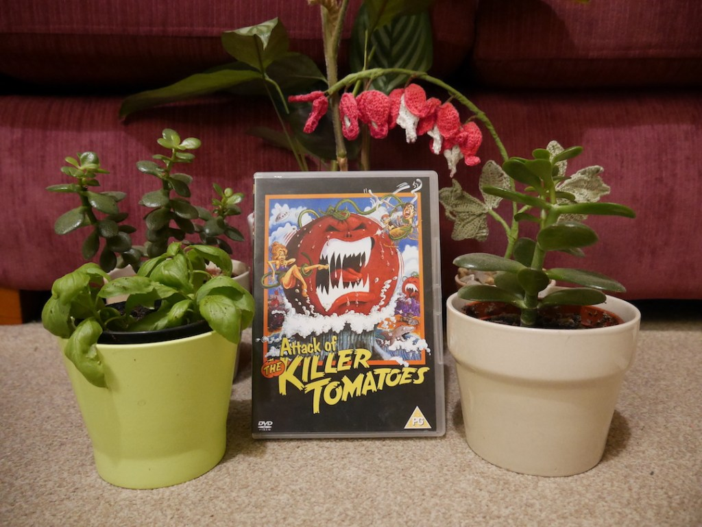 Six on a Saturday Attack of the killer tomatoes