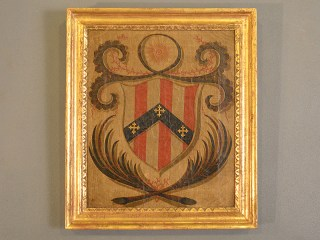 Family Coat-of-Arms Oil Painting
