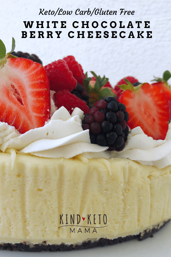 Keto White Chocolate Berry Cheesecake Pin.png
