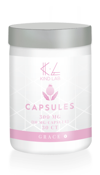 Kind Lab Grace CBD Capsules for Skin