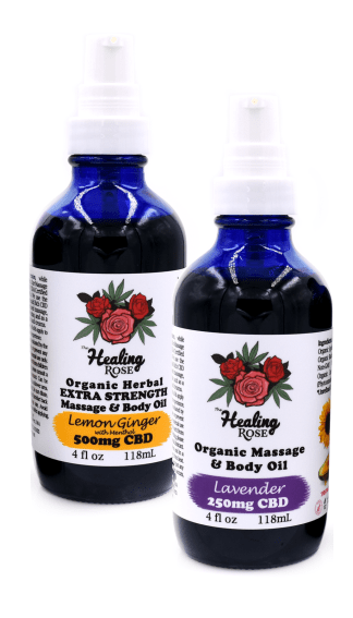 The Healing Rose Body & Massage Oils