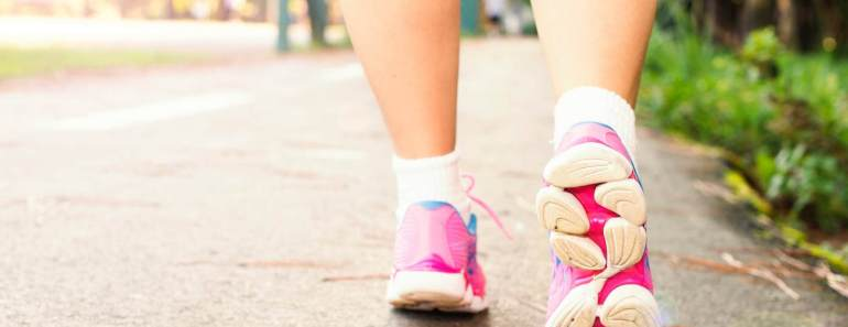 How to lose weight by walking