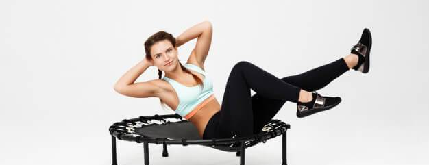 Trampoline workouts; Types, benefits, exercises, and precautions.
