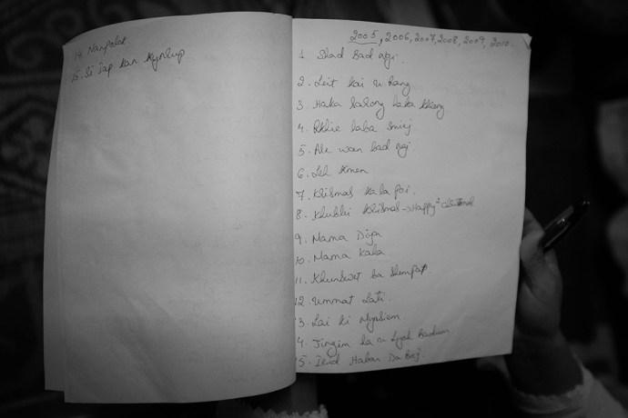 List of albums U N Sun remembers