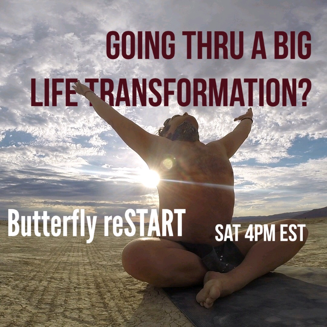Butterfly Restart Transform Spread Your Wings And Fly