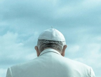Back of Pope's head