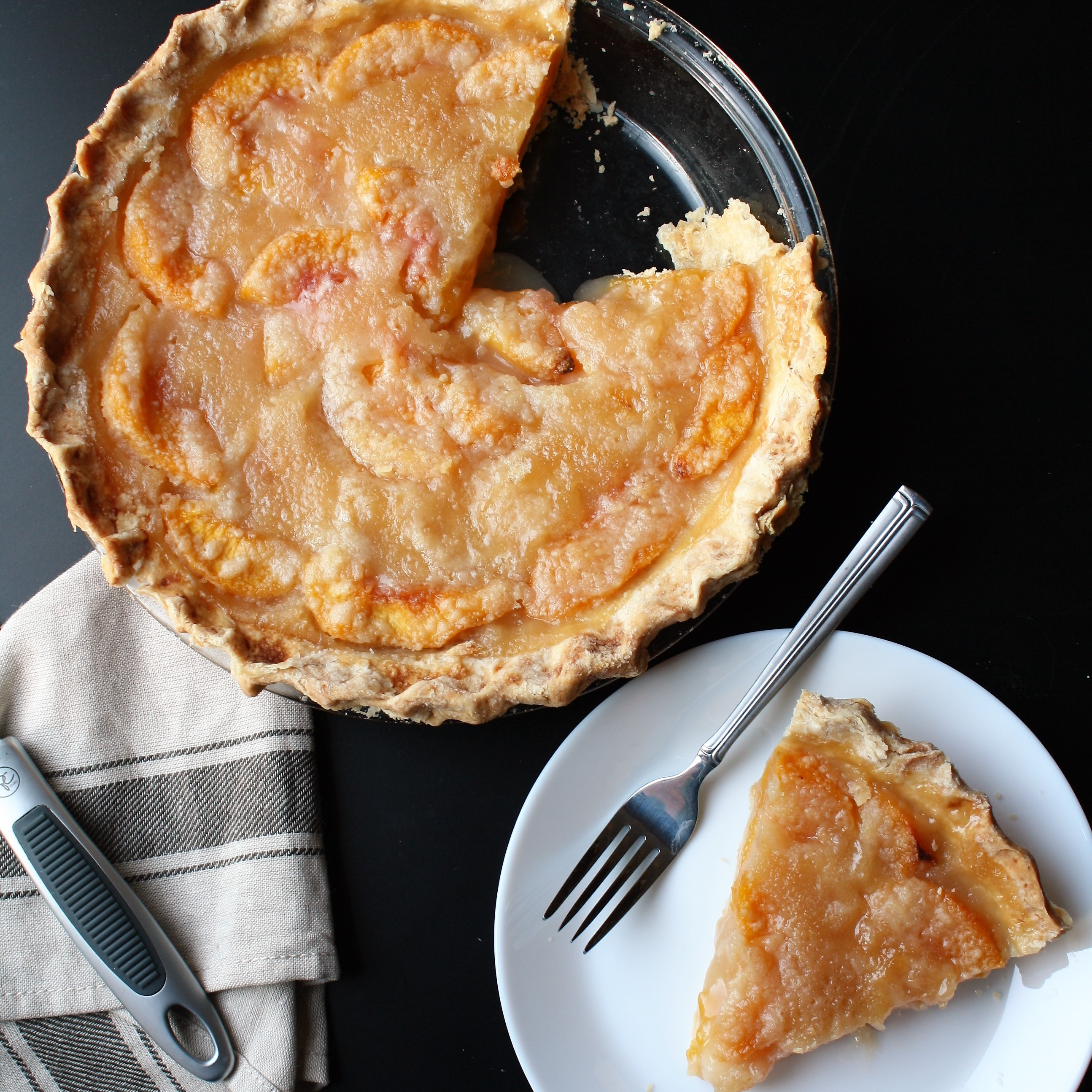 Open-face Peach Pie: Canada 150 Month (#2)