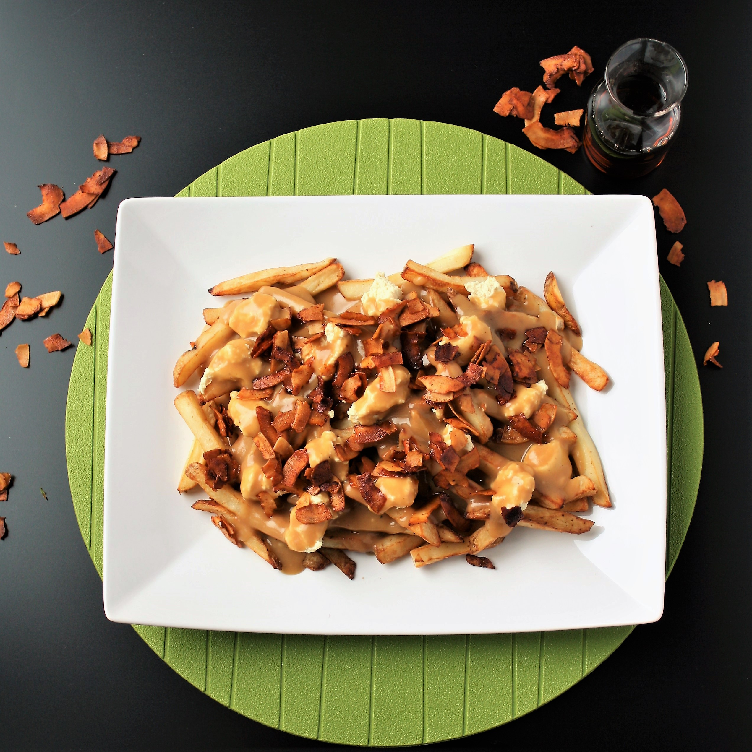 Vegan Maple Bacon Poutine!!: Canada 150 Month (#3)