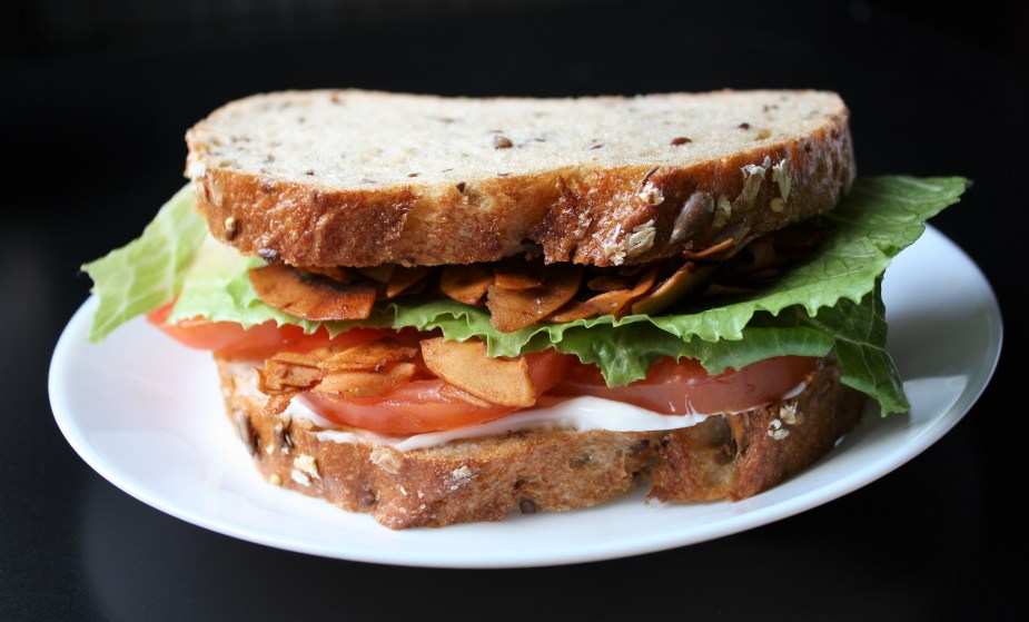 Maple Coconut Bacon BLT