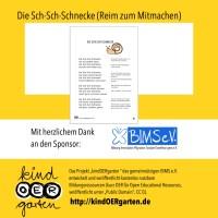 Reim und Fingerspiel: Die Sch-Sch-Schnecke | #0014 ...