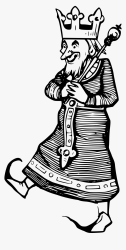 Clipart King Clipart Black And White Png Transparent Png kindpng