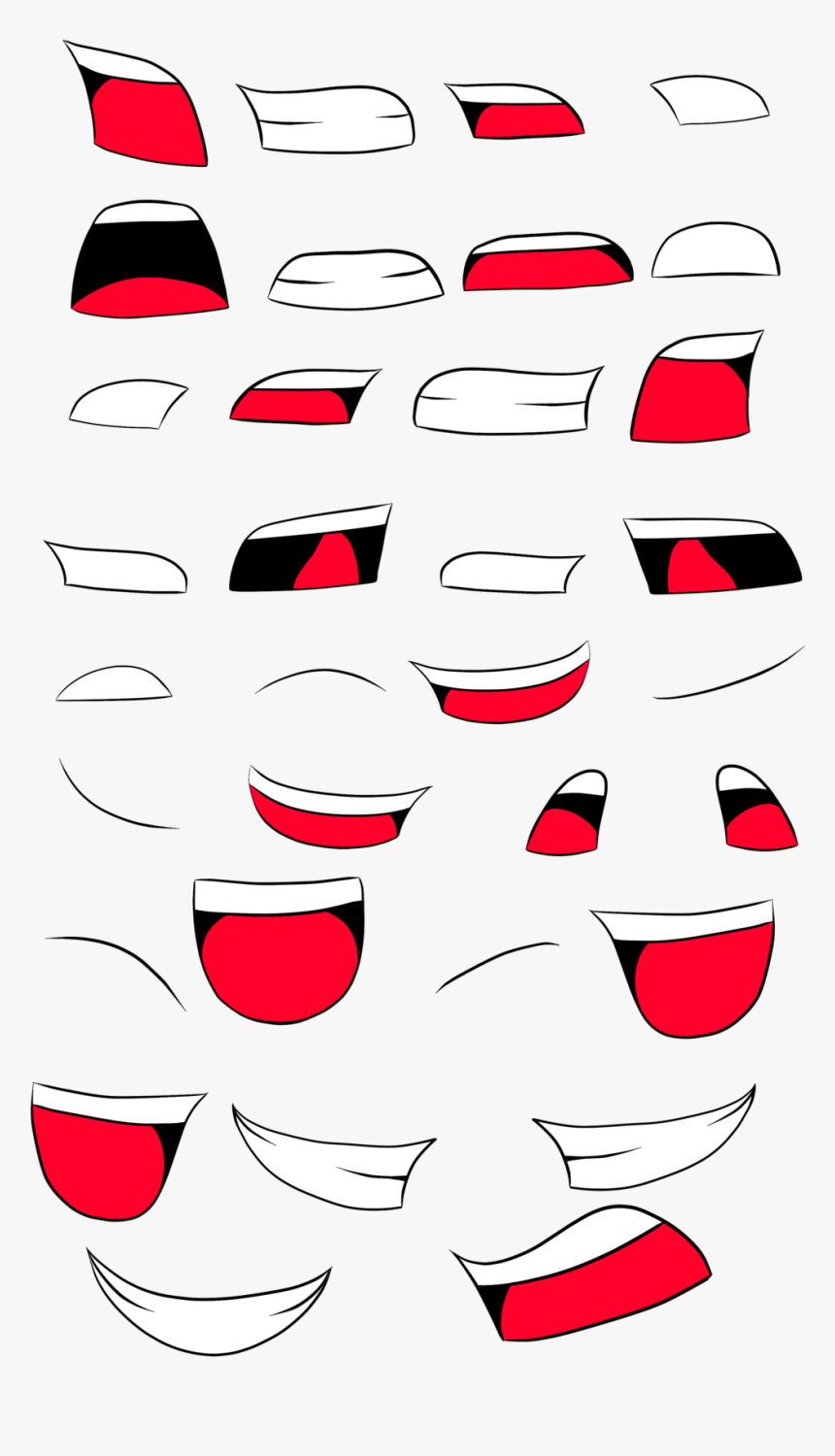 smiling mouth png - Smiling Face With Open Mouth And
