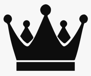 crown king silhouette clipart transparent hd queen vinyl kings icon tattoo stickers throughout vector sticker prince royal chess decals graphic