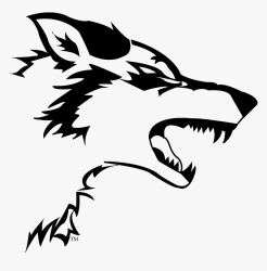 wolf easy drawing cool transparent kindpng