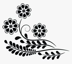 Design Clipart Clip Art Of Flower Design HD Png Download kindpng