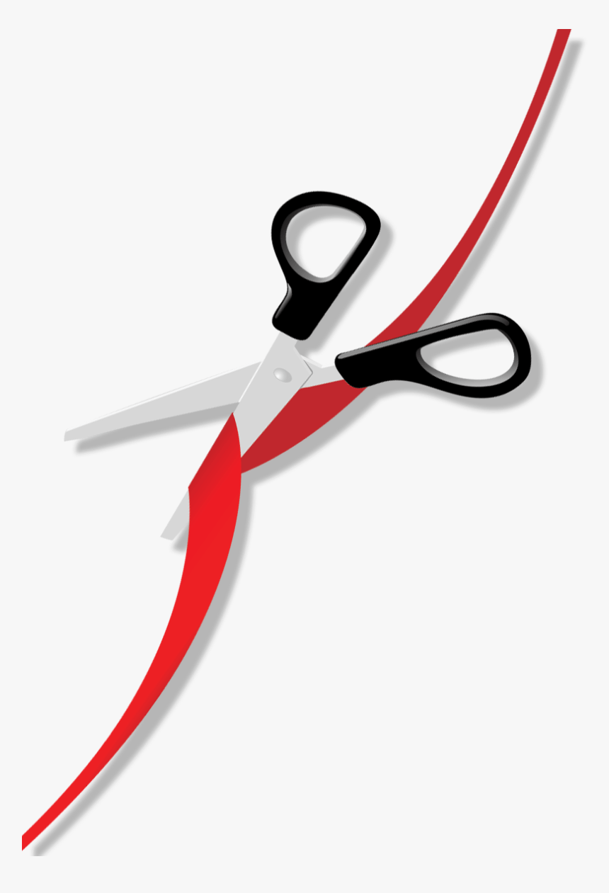Ribbon Cutting Png : ribbon, cutting, Clipart, Scissors, Ribbon, Grand, Opening, Transparent, Background, Cutting,, Download, Kindpng