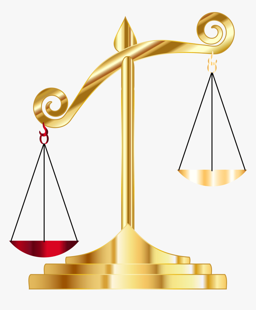 Free Clip Art Scales Of Justice : scales, justice, Measuring, Scales, Justice, Balance, Scale, Transparent, Kindpng